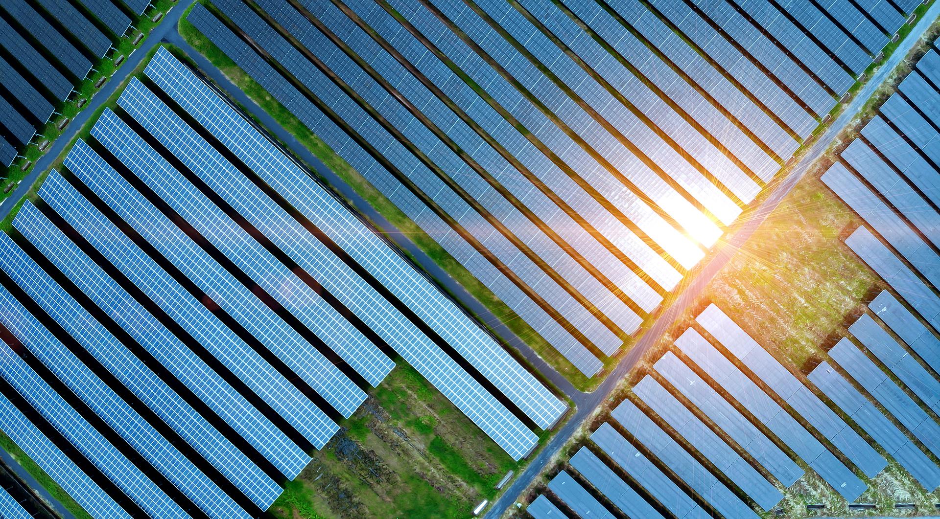 solar cell field